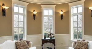 Лепнина на потолке (карниз)