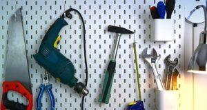 Рабочий инструмент хранение в доме